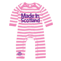 Made in Scotland Romper Pink