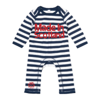 Made in Scotland Romper Navy